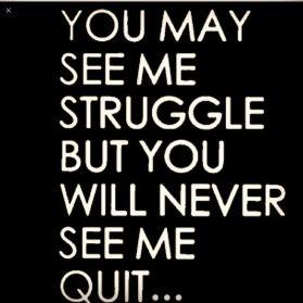 Quit quote